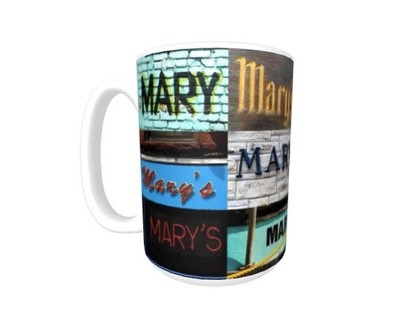 JACKSON Coffee Mug Cup featuring the name in actual sign photos