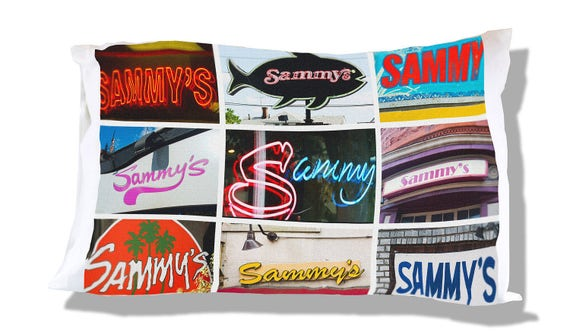 Personalized Pillow Case featuring DIANE in sign photos; Custom pillow cases; Teen bedroom decor; Cool pillow case; Personalised bedding