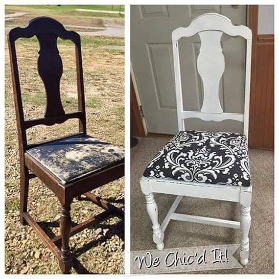 Diy How To Instructions For A Wood Chair Paint Upholstery