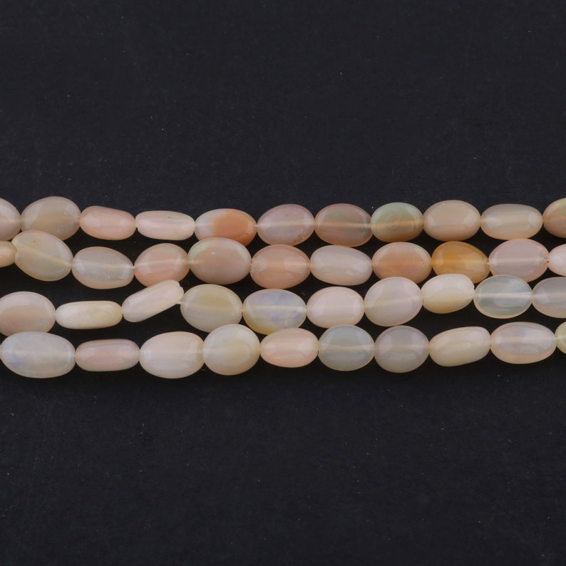 fire opal briolettes 5mmx4mm-10mmx8mm 18 Inches BR2581 1 Strand Natural Ethiopian Welo Opal Smooth Briolettes,Opal Oval Beads