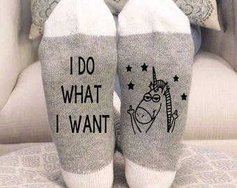 Unicorn, Unicorn Socks, Socks, funny socks, novelty socks, gift, if you can read this socks, wine socks, custom socks, Mother's Day gift