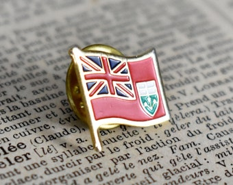 Guelph City Canada Flag Cufflinks