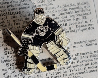 Vintage Hockey Goalie Etsy