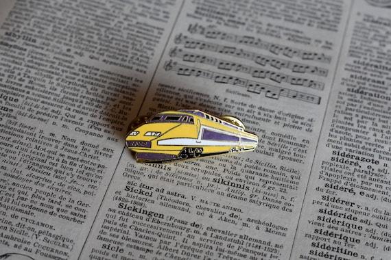 Vintage Railway Collectible VIA Rails Logo Lapel Pin VIA Trains