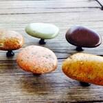 Idaho Natural River Rock Cabinet Hardware