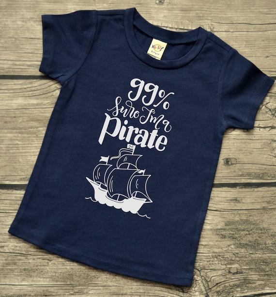 44769e969 99% Percent Sure I'm a Pirate Boys Baby Infant Vinyl | Etsy