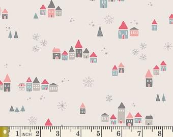 Little Town Snowdrift Joy LTO-8230 | Little Town by Amy Sinibaldi | Art Gallery Fabrics | Yardage | Fat Quarter