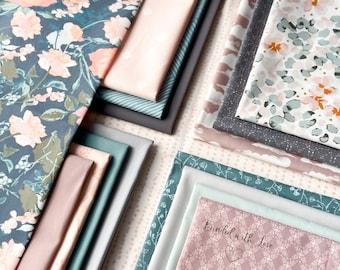 Curated Fat Quarter Bundle    16 Fat Quarters   Hand Selected Art Gallery Fabrics Quilting Bundle