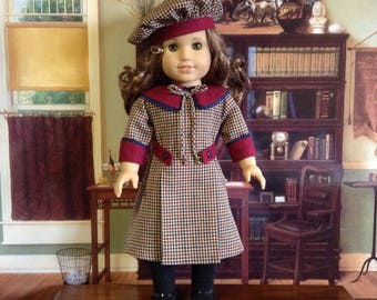 American Girl 1914 Fall Middy Dress for American Girl Doll