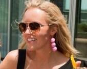 Triple Ball Drop Earrings...