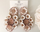 Stacked Sequin Flower Col...