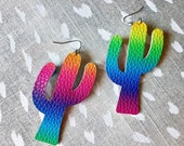 Genie Mack Collection: Colorful Cactus Earrings