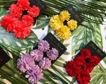 Genie Mack Collection: Flower Drop Statement Earrings