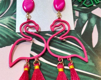Tropical Drops by Genie Mack // Pink Flamingo