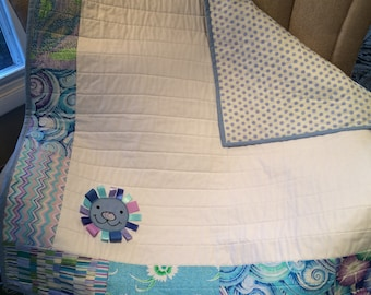 personalized baby quilt blanket