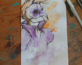 Prince. Original character by Jesse Wamboldt. Original art.