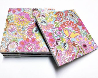 Paisley Coasters - Drink Coasters - Home Decor - Tile Coasters - Ceramic Coasters - Table Coasters On Sale