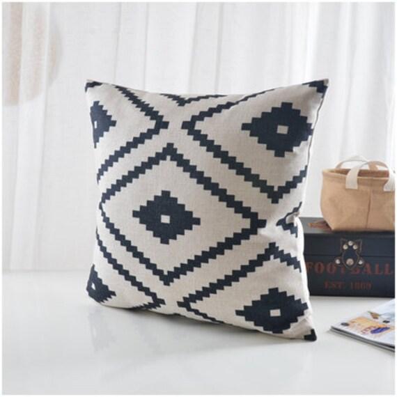 Aztec print pillow cover cotton pillow