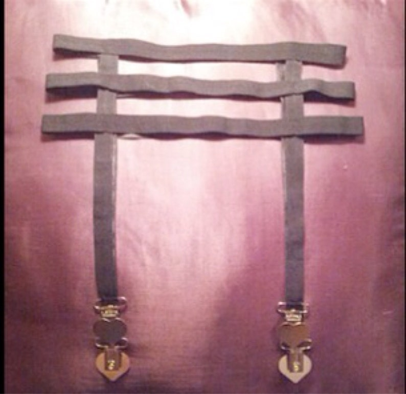 Bondage garter belt body cage fetish lingerie harness