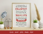 BUY 3 GET 30 OFF Christmas Vacation Svg cut files for cricut silhouette png eps pdf dxf - clark griswold quote svg - funny christmas svg
