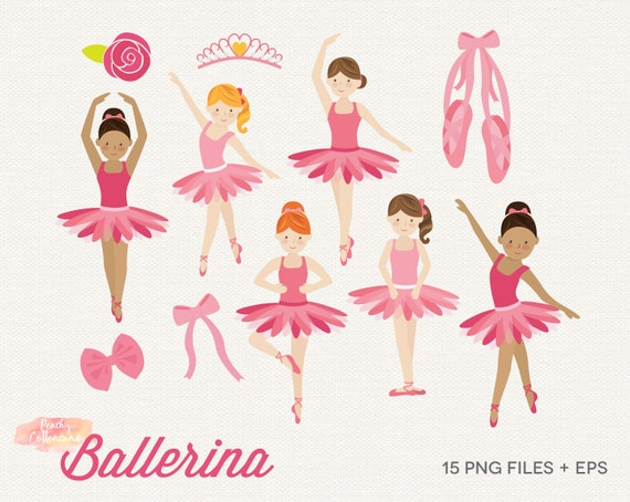 buy 2 get 1 free ballerina clipart ballerina clip art etsy rh etsy com free ballerina clip art from 1800 royalty free ballerina clipart