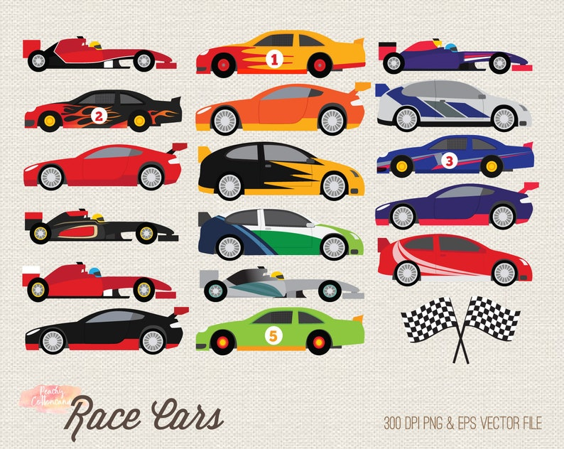 BUY 2 GET 1 FREE Race car clipart - Racing car clipart - race car clip art  - racing car clip art - racing clipart - nascar f1 rally car