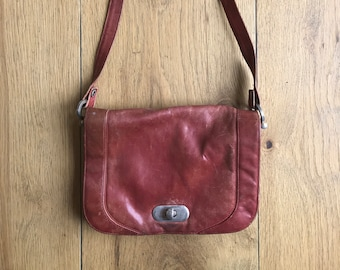 Red Leatherbag