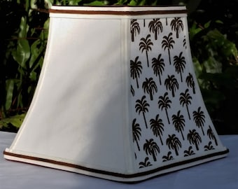 Graphic Print Lampshades