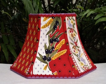 French Country Lampshade,  Pierre Deux Lamp Shade