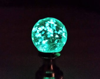 Small Glow in the Dark Lamp Finial