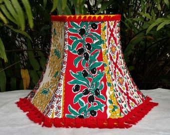 Floral Lampshade, French Country Pierre Deux Style