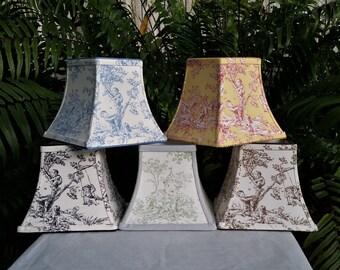 Custom Lamp Shade, Toile Lampshade
