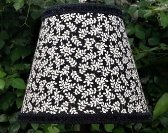 Black and White Table Lampshade
