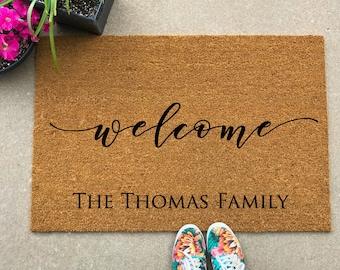 Attrayant Doormat, Large Doormat, Custom Door Mat, Personalized Doormat, Custom  Doormat, Door Mat, Customized Doormat, Mat, Custom Welcome Mat