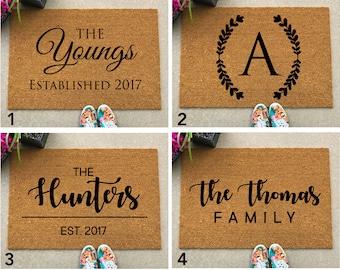 Custom Door Mat, Personalized Doormat, Door Mat, Doormat, Door Mat Personalized, Rug, Customized Doormat, Newlywed Gift, Unique Gift