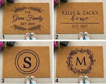 LARGE Custom Doormat, Doormats, Door Mat, Quote Doormat, Housewarming Gift, Custom Doormat, Personalized Welcome Mat, Family Name Doormat