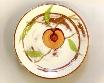 Peaches & Cream Salad Plate