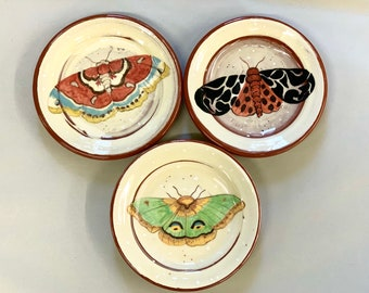 Butterfly Cocktail Plates