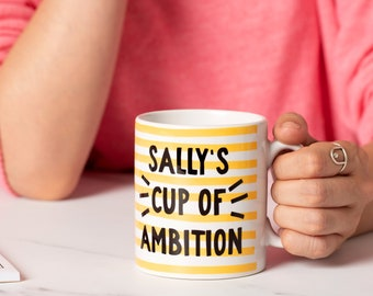 Personalised Mug - Cup of Ambition