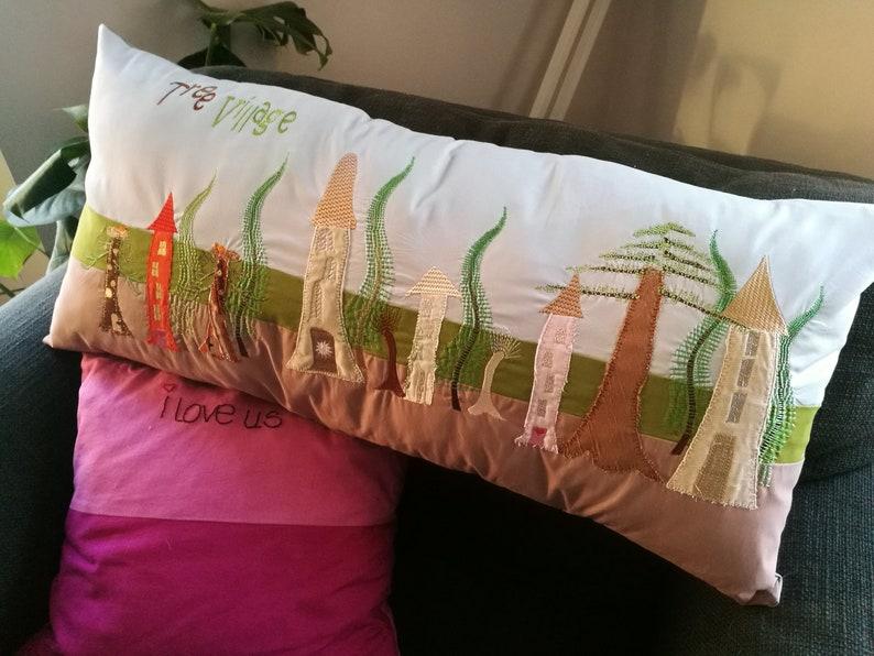 Tree Village embroidery image 0