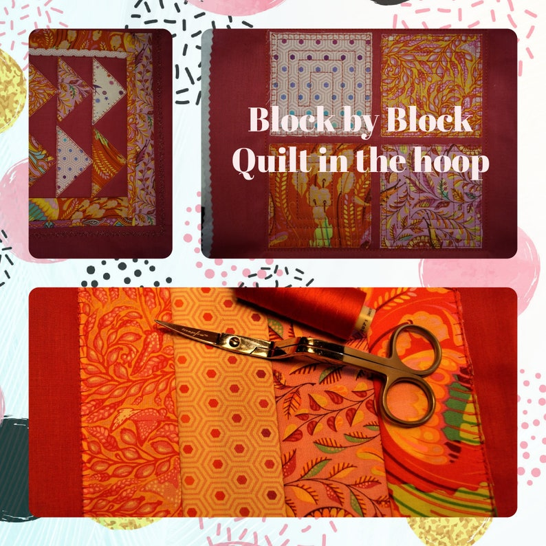 Blocks and Quilt Blocks embroidery image 1