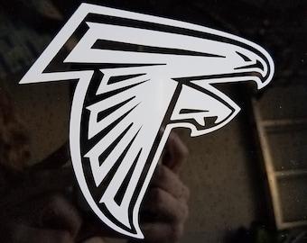 Atlanta Falcons Decal Etsy