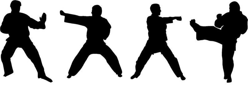 optional Personalized karate car window decal with your child/'s name