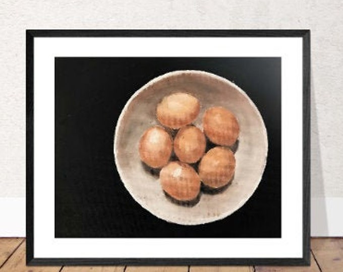 Eggs Painting, Prints, Canvas, Posters, Originals, Commissions, Fine Art from original oil painting by James Coates