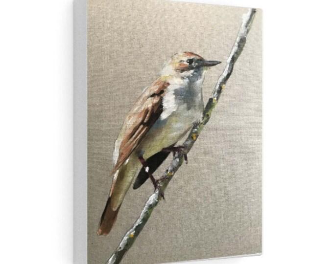 Bird Painting, Bird Poster , Bird Wall art, Bird Canvas, bird Print , Fine Art - from original oil painting by James Coates