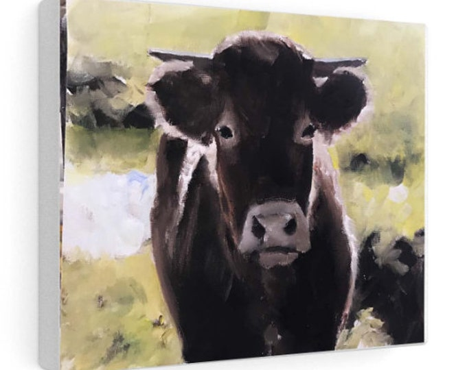 Cow Painting, PRINT, Cow art, Cow Print ,Fine Art ,from original oil painting by James Coates