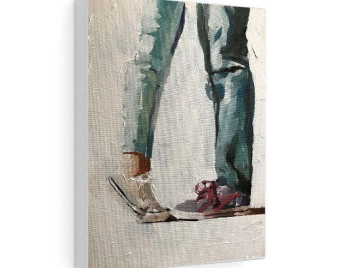 Couple Painting. PRINTS, Canvas, Posters, Commissions, Fine art- from original oil painting by James Coates