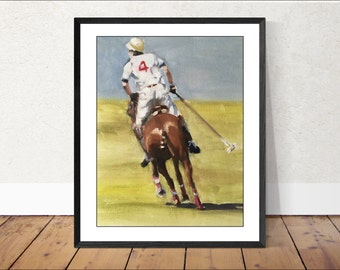 Horse Painting Wall art - Canvas Print - Fine Art - from original oil painting by James Coates