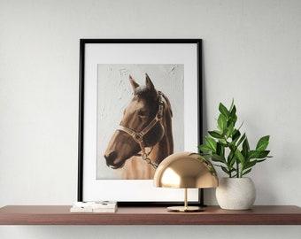 Horse Painting Horse Art Horse PRINT Horse Lovers Art Horse - Art Print - from original painting by J Coates