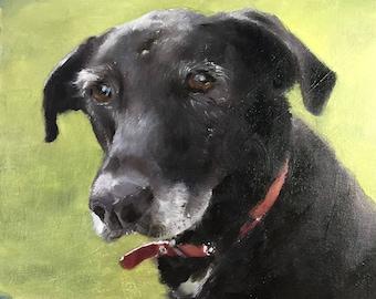 Labrador Painting Labrador Art Labrador PRINT Dog Painting Dog PRINT Art Print - Labrador  Dog -  from original painting by J Coates